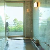 源泉かけ流し客室露天風呂2
