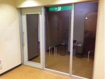 喫煙コーナー外観※当店は全館分煙施設です。