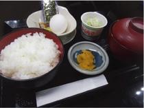 【納豆定食】定番朝メニュー!