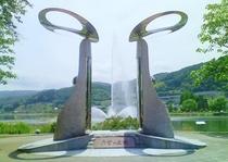 岡谷湖畔公園:春夏