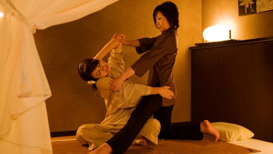 【ASHIYA バンクンメイ】「世界で一番気持ちいい」と称されるタイ王国伝統の古式マッサージ。