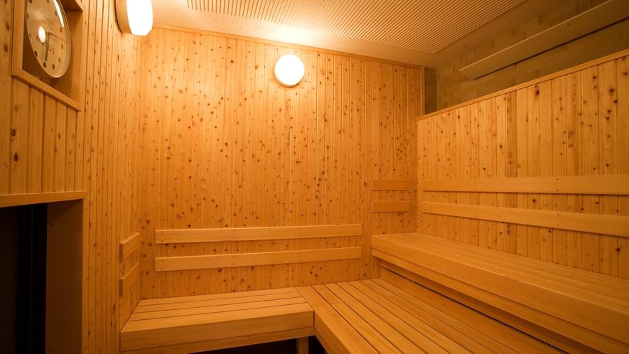全ての大浴場にはサウナを完備。