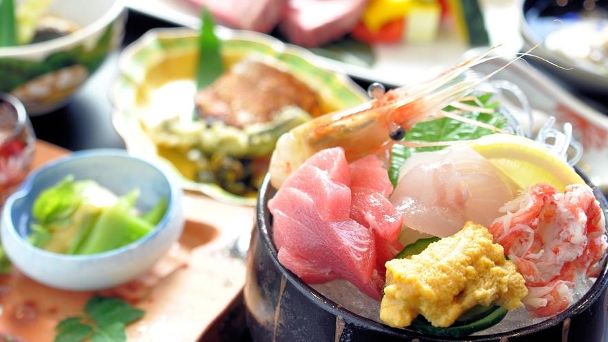 【里山のごちそう会席】ある日の料理一例