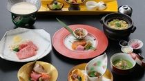 4/8~日本料理「那須」 地元食材の料理が楽しめるカジュアルコース