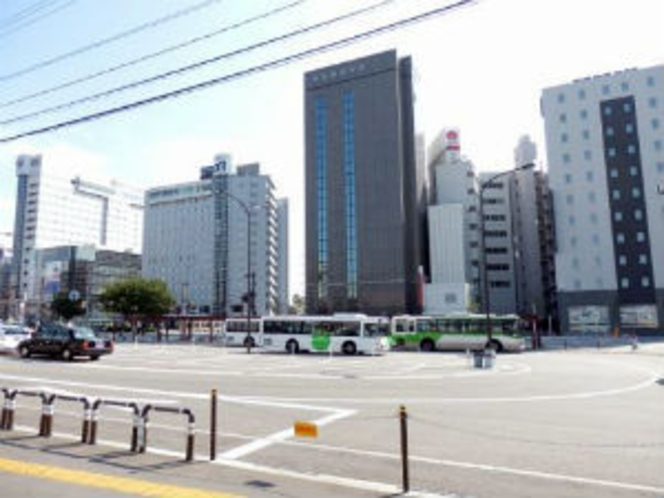 ■施設周辺:富山市街