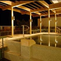 三河湾を一望できる大浴場