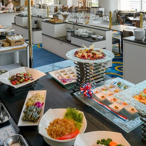 ビュッフェ一例 和洋中の料理長の饗宴