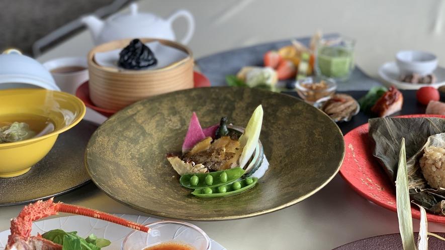 中華鮑料理(一例)