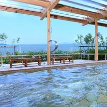 三河湾の絶景露天風呂