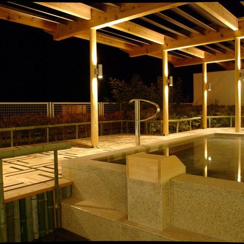大浴場 満天の星空を眺めて