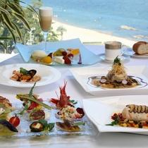 洋食コース一例