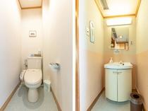 【禁煙】和室1~5名様(バスなし・オーシャンビュー)トイレ
