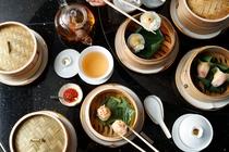 中国料理「龍天門」香港飲茶オーダーブッフェ(例)