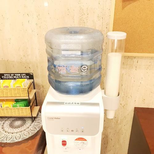 無料飲料水コーナー