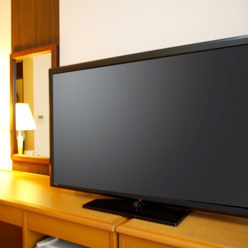 客室TV ツインルーム(40、50インチ)