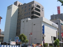 ホテル外観 JR彦根駅西口より徒歩1分