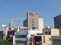 JR彦根駅西口からの写真