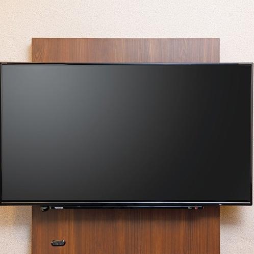 客室TV シングルルーム(40インチ)