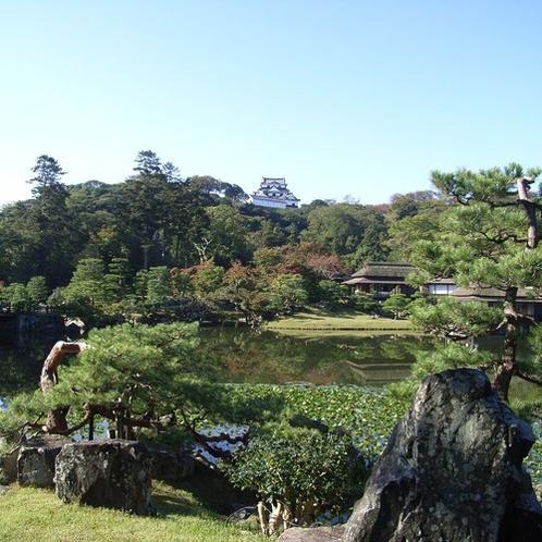 大名庭園 『玄宮園』(彦根城内) 入場料¥200