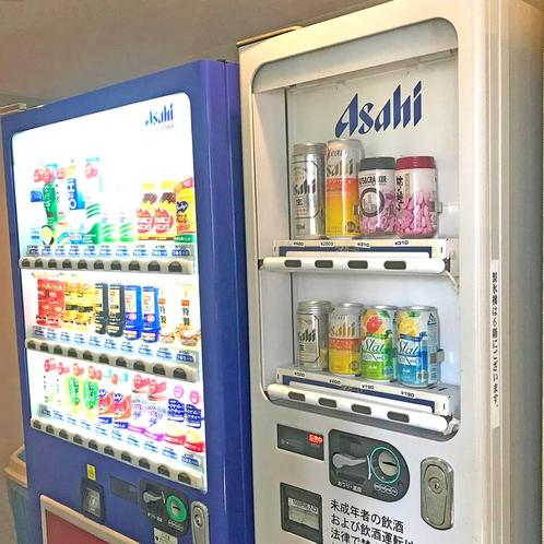 飲料自動販売機(4階、8階)