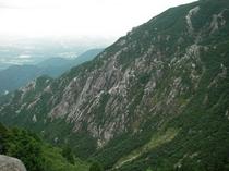 御在所岳の眺め