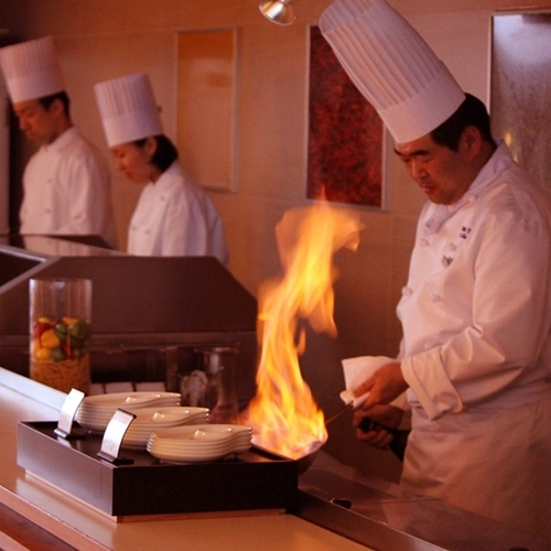リゾートダイニング『フジヤマテラス』 オープンキッチン ※イメージ