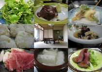 吾妻荘の料理