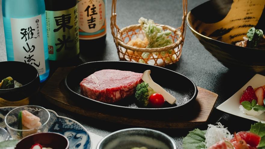 贅沢の極み「米沢牛ステーキ」