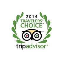 2014年トリップアドバイザー『トラベラーズ・チョイス・アワード』受賞!