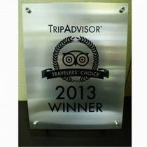 2013年トリップアドバイザー『トラベラーズ・チョイス・アワード』受賞!
