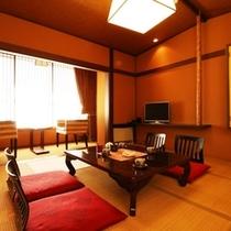 和室8畳のお部屋になります