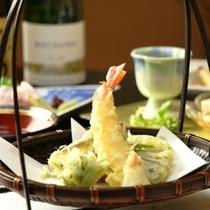 夕食の単品イメージ 天ぷら