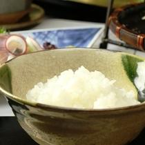 地元産の美味しいお米