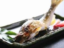 川魚は、鮎、岩魚、山女、虹鱒、鯉と旬のものをお出しします