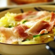 朝食の単品イメージ 彩鮮やかな品々