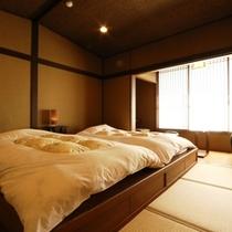 和室二間のお部屋になります