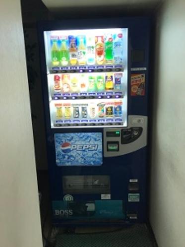 自販機 8Fにあります。