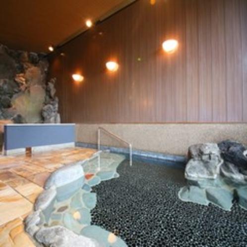 貸切岩風呂も勿論天然温泉100%かけ流しです。
