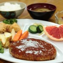 合宿用 夕食【ハンバーグ】