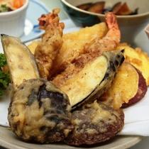 季節の天ぷら【夕食単品】お腹いっぱい召し上がれ!