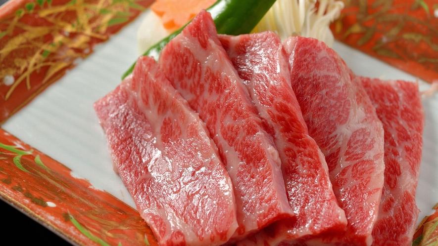 ・きめ細かいサシの入った松阪牛は甘くコクがあります