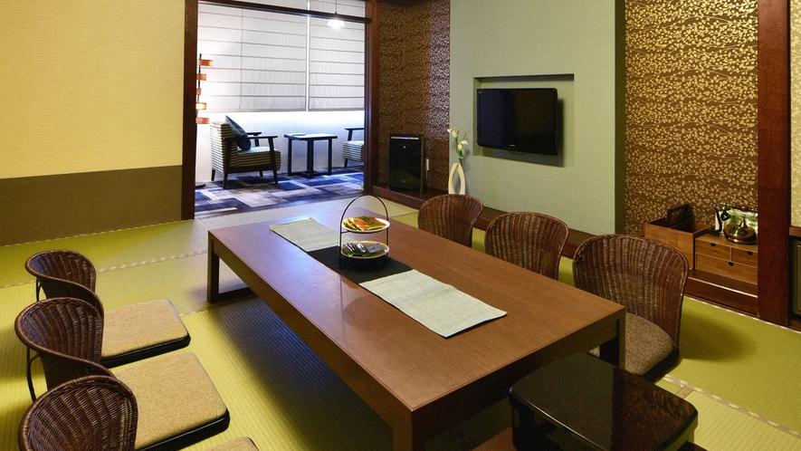 ・【一般客室一例】和室8~12畳のお部屋です。広さや眺望は指定できません