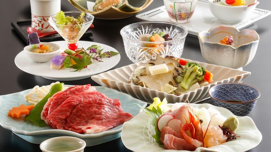 ・【三大味覚夕食一例】三重を代表する味覚をご堪能ください