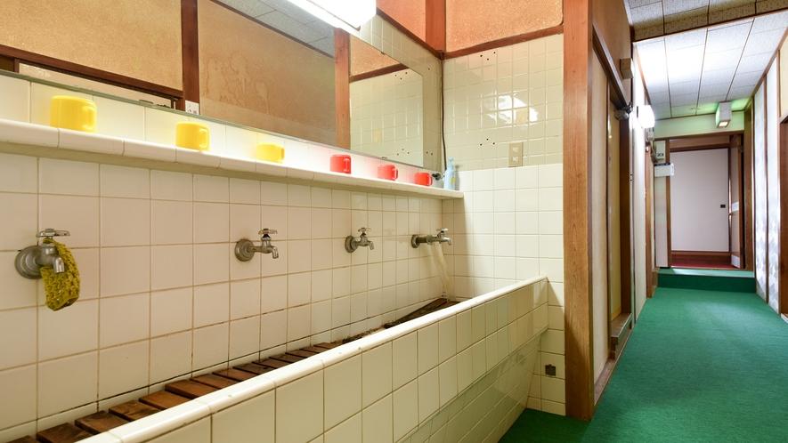 *【館内一例】共同洗面所