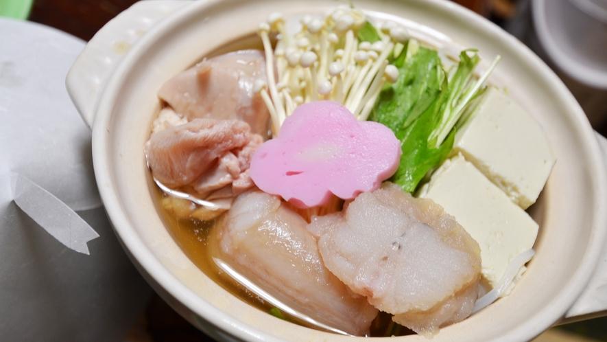 *小鍋(夕食一例)