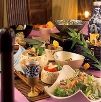 お食事処「寿楽亭」のご夕食