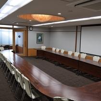 広々と使える会議室