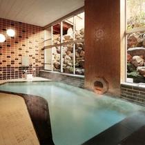 地下1階・大浴場「黄金の湯」