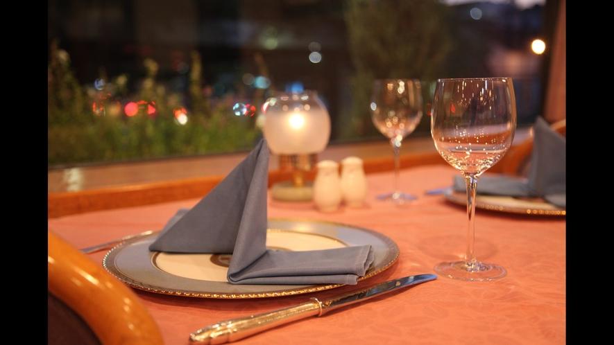 レストラン(夜)