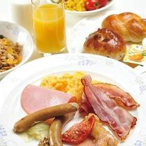 レストラン朝食